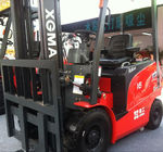 Electric Forklift Truck With AC Motor Battery Free Maintenance 2.5 Ton Capacity