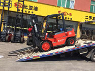 3000kg Warehouse Lift Truck Key Off Function With Streamline Appearance