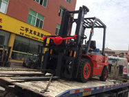 Pneumatic Tire Diesel Operated Forklift , Forklift 3 Ton Lower Consumption