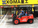 3m Lifting Height Internal Combustion Forklift 2 Stage With High Power AC Motor
