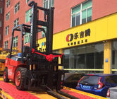 Diesel Forklift Material Handling Lifting Equipment 1070x125x45mm Dimension